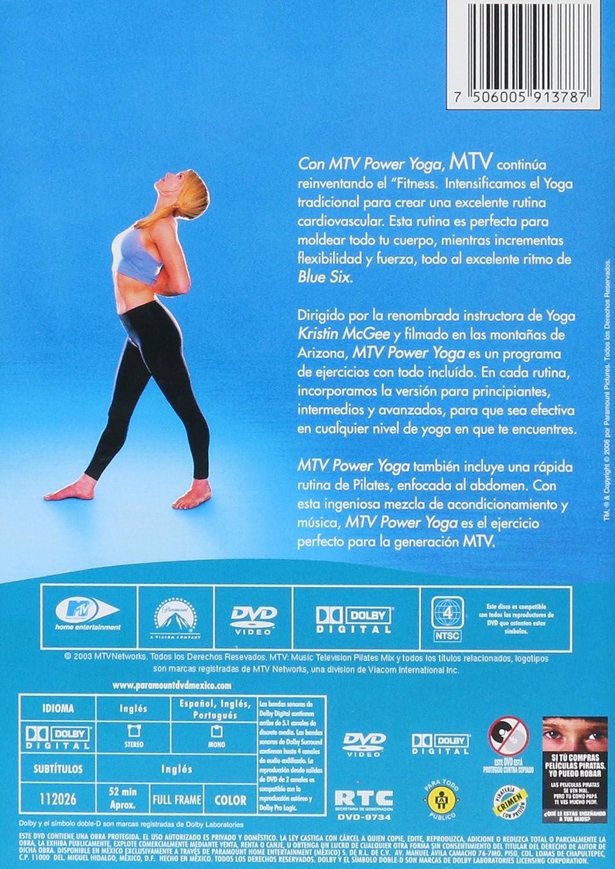MTV Power Yoga ( DVD )(MTV Power Yoga ( DVD )): Amazon.com.mx ...