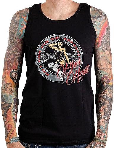 BLACKHEART - Camiseta - Cuello redondo - para hombre negro X-Large: Amazon.es: Ropa y accesorios