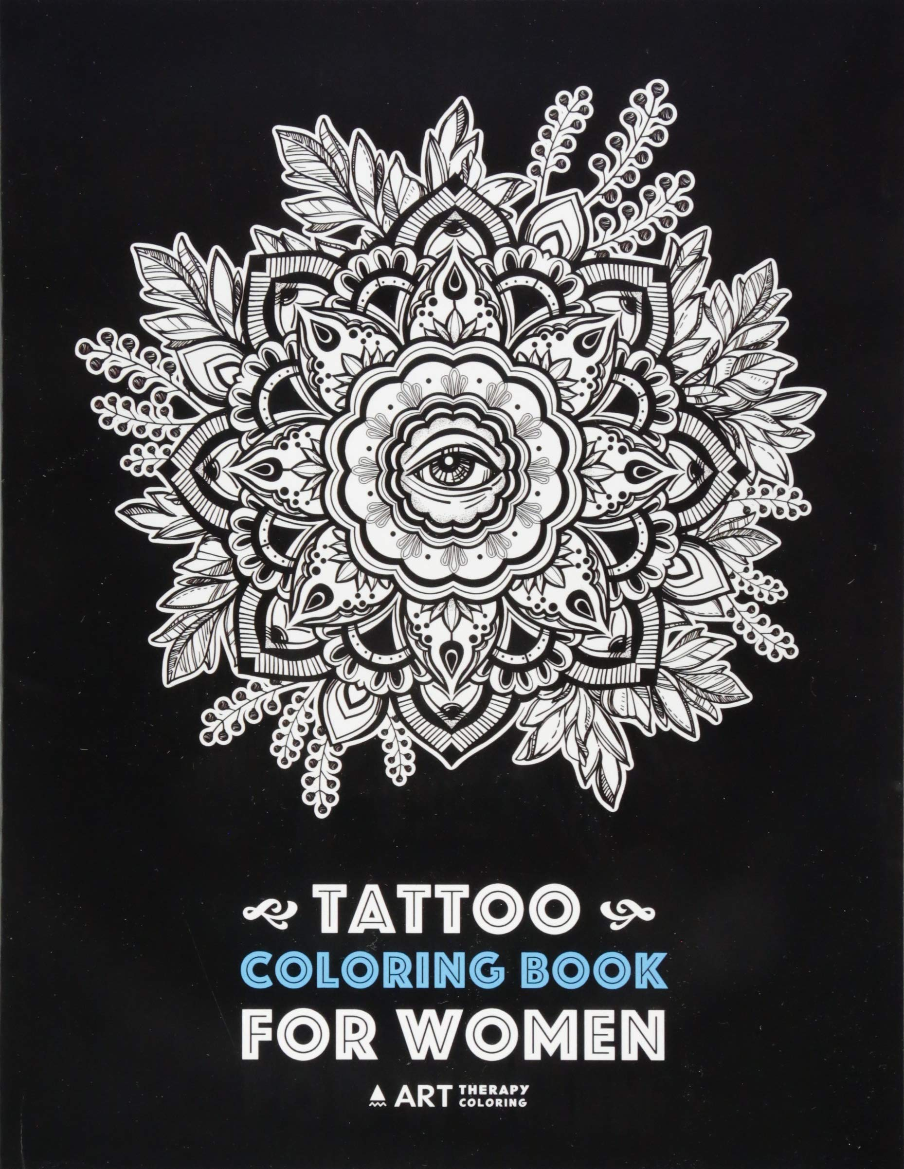 tattoo coloring book for women anti stress coloring book for womens relaxation detailed tattoo designs of lion owl butterfly birds flowers meditation practice for stress relief