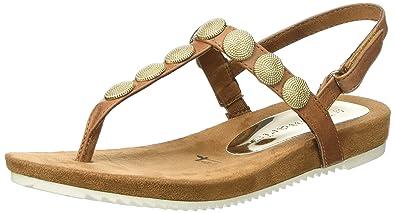 Sandalen Sandaletten Tamaris Gr 40 Braun Zehentrenner Kleidung & Accessoires