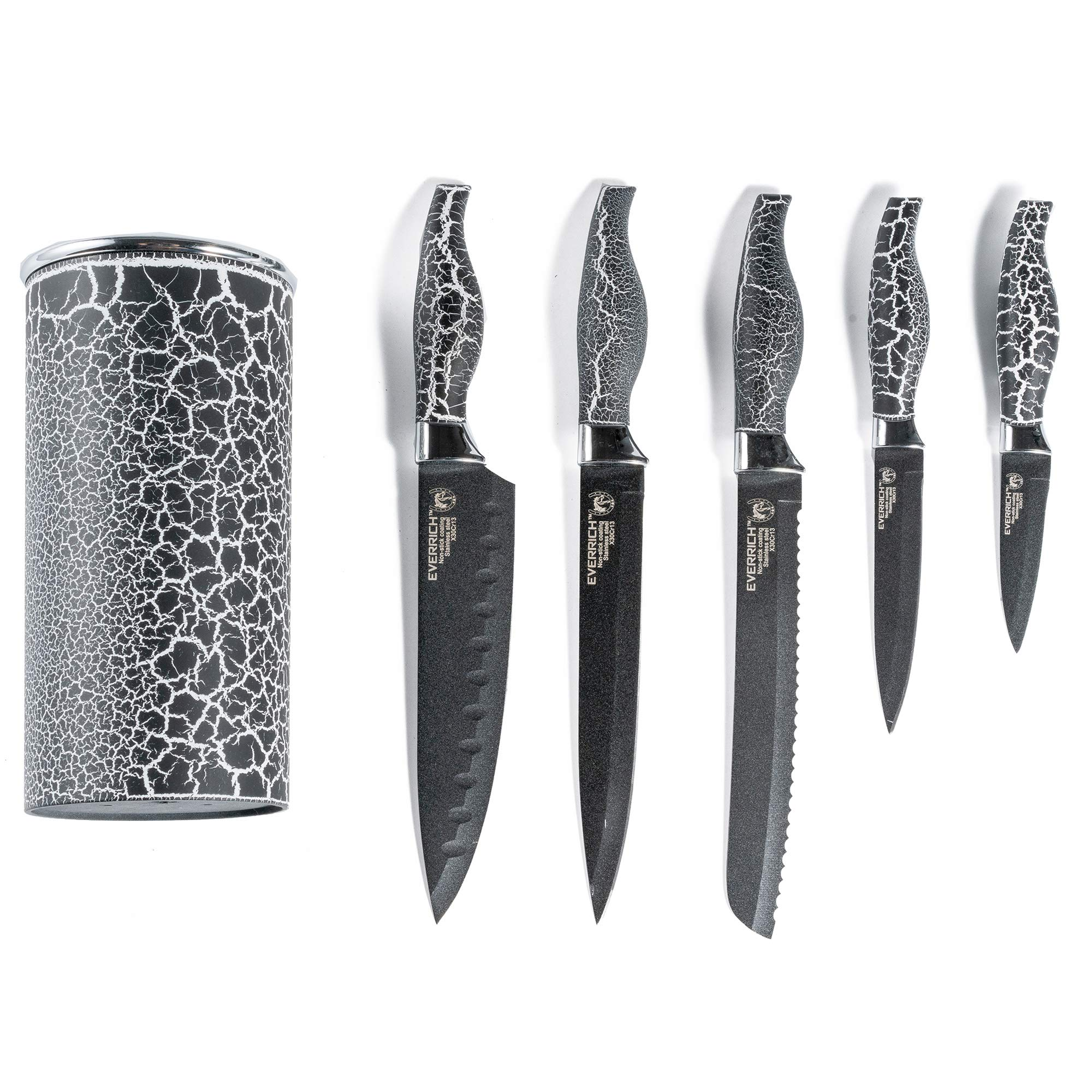 Kitchen Knives (black)