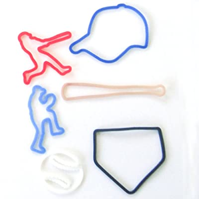 Silly Bandz Baseball Shapes - 24 Pack: Toys & Games