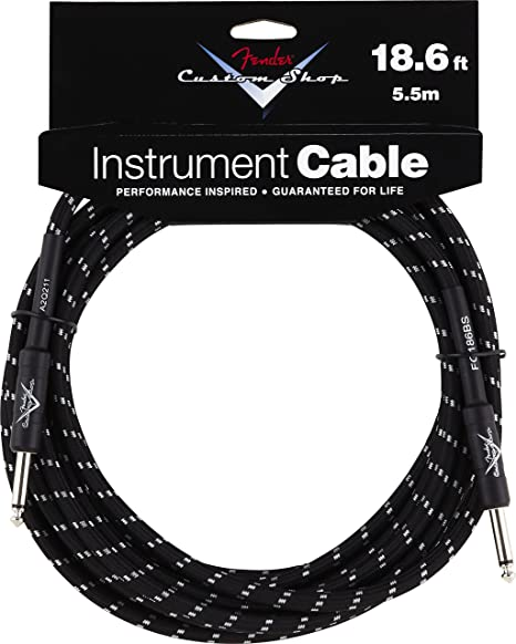 Amazon Com Fender Custom Shop Performance Series Cable Straight