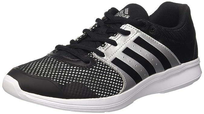 TG. 36 EU Nero Core Black/Silver Met adidas Essential Fun Ii W Scarpe da Gi