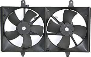 Garage-Pro Cooling Fan Assembly for NISSAN ALTIMA 2002-2006 / MAXIMA 2004-2008 Dual Fan Type