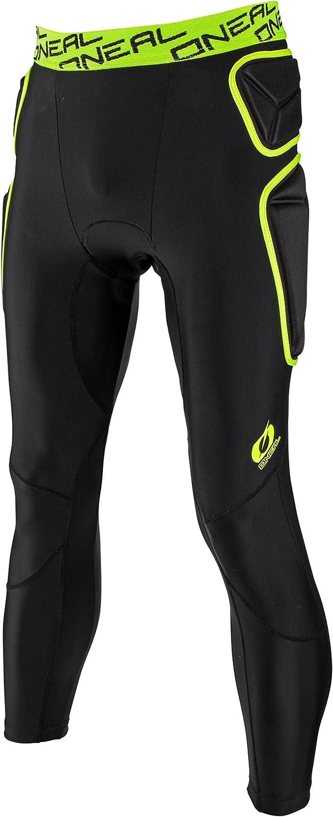 ONeal Trail Pantalon Protections Noir Vert Citron VTT DH Enduro Downhill Freeride VTT Eva 1 1288