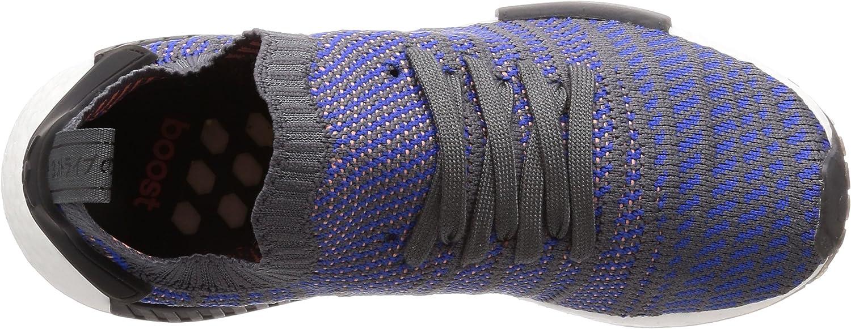 adidas NMD_r1 Stlt Primeknit, Baskets Homme Bleu (Hi-res Blue 0)