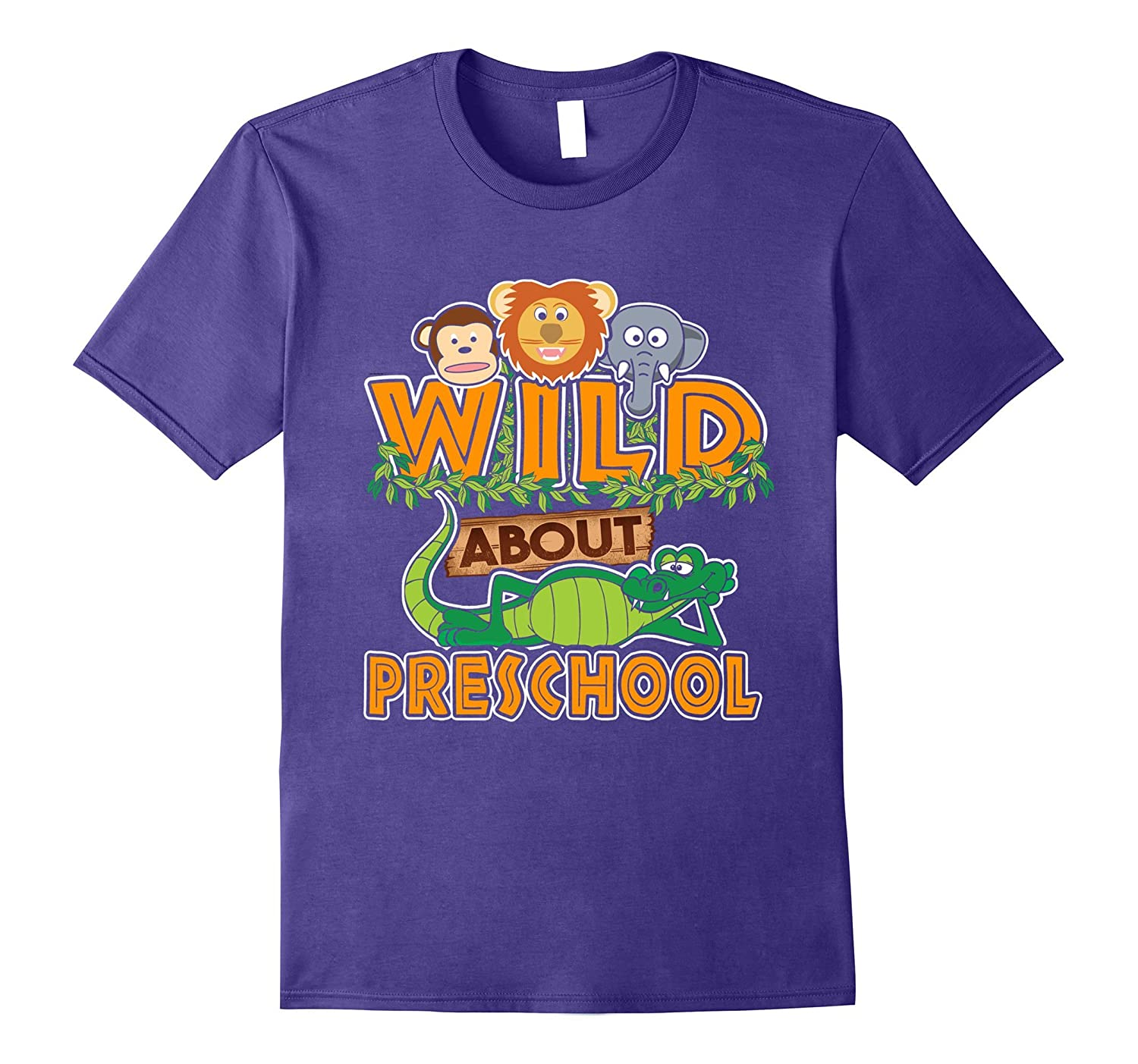Wild About Preschool T-Shirt-CL