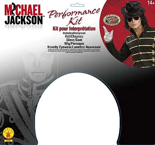 e743d705833 Amazon.com  Michael Jackson Costume Accessory Kit with Wig