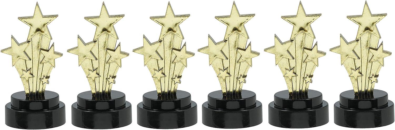amscan Award Trophies, 6 Unidades, Dorado