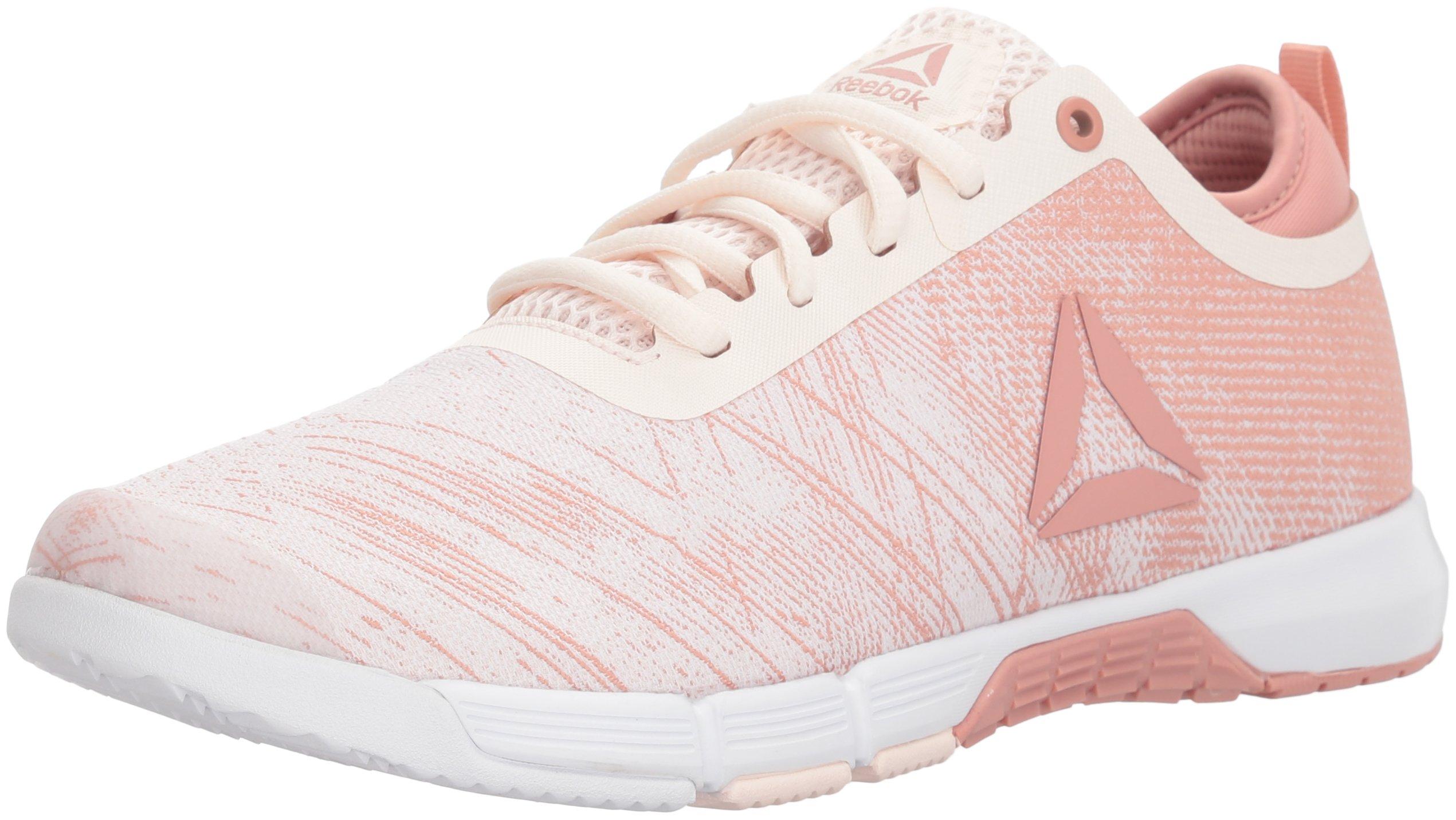 Reebok Women's Speed Her TR Sneaker, Pale Chalk Pink/White/Silver, 10 M US