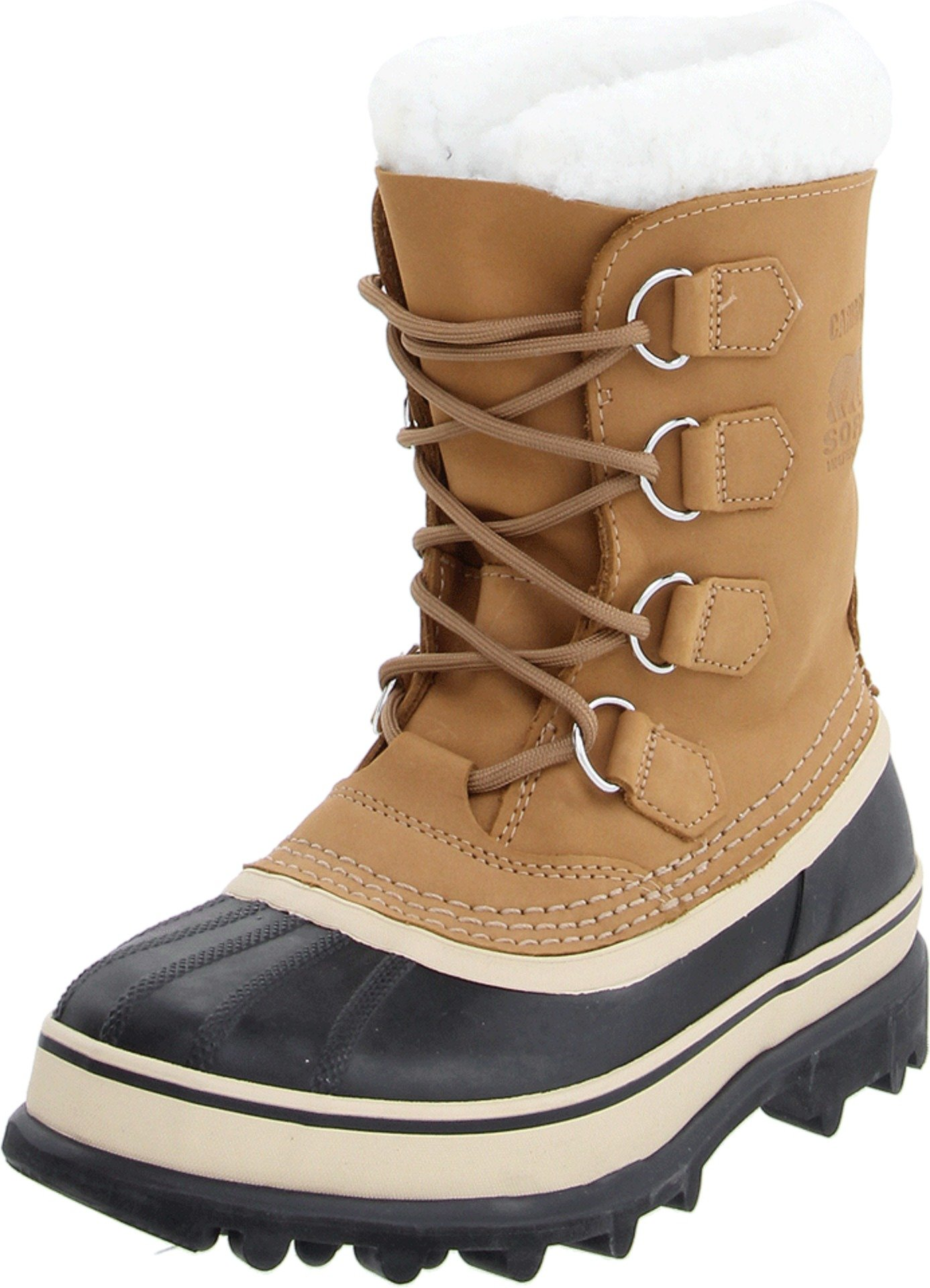 Sorel Women's Caribou NL1005 Boot,Buff,8 M by SOREL