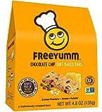 FreeYumm Chocolate Chip Soft Baked Bars - 15 Individually Wrapped Bars - Allergen Free - Gluten Free - School Friendly