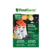 FoodSaver Heat-Seal Rolls, 5-Pack
