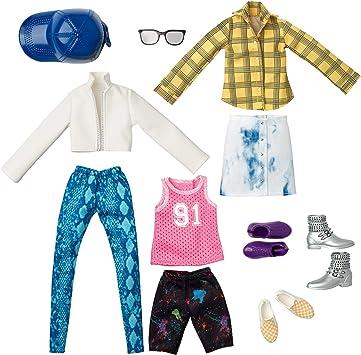 Amazon.es: Creatable World- Pack de Moda, Ropa para Muñeco Unisex Jersey y Cuadro (Mattel GKV31), color/modelo surtido: Juguetes y juegos