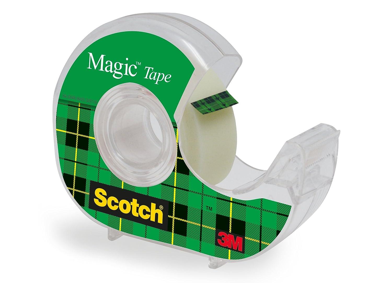 Scotch Removable Magic Tape 19 mm x 33 m Cinta adhesiva transparente