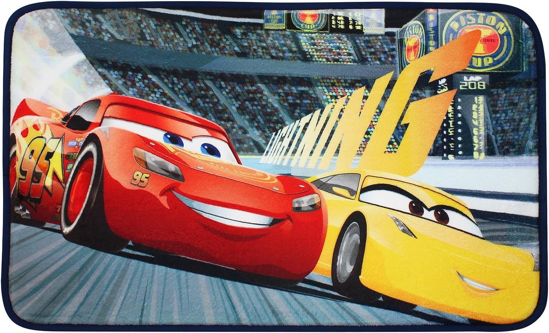 Teppich L/äufer Kinderteppich 75x45cm mit Motivauswahl TW24 Disney Spielteppich Cars