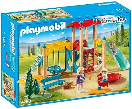 Playmobil- Parque Infantil Juguete, (geobra Brandstätter 9423)