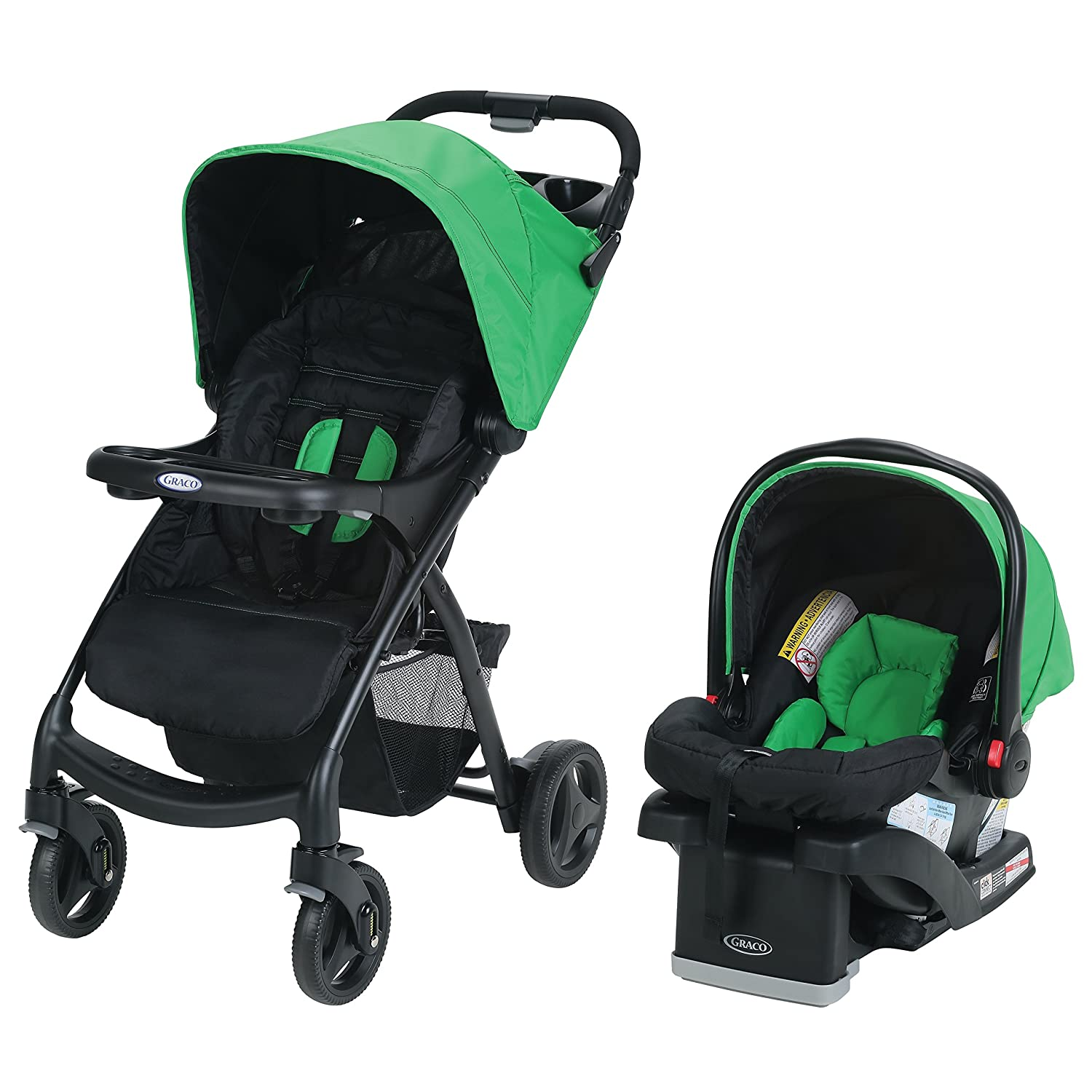 Graco Verb Click Connect Travel System, Fern 2020040