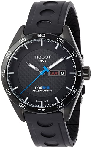 TISSOT RELOJ DE HOMBRE AUTOMÁTICO 42MM CORREA DE GOMA T1004303720100: Amazon.es: Relojes
