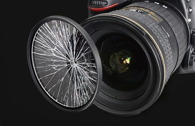 Ultraviolet UV Multi-Coated HD Glass Protection Filter for Nikon AF NIKKOR 85mm f//1.4D IF Lens