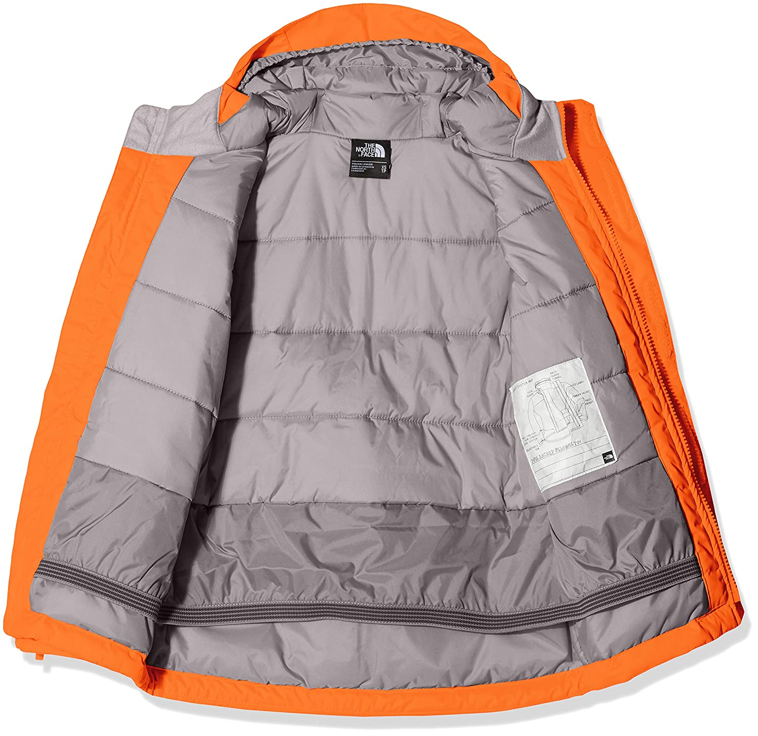 347f3ecdcb The North Face Youth Snow Quest Jacket Enfant