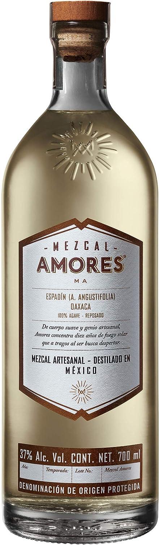 Mezcal Orgánico AMORES Espadín Reposado: Amazon.es: Alimentación y bebidas