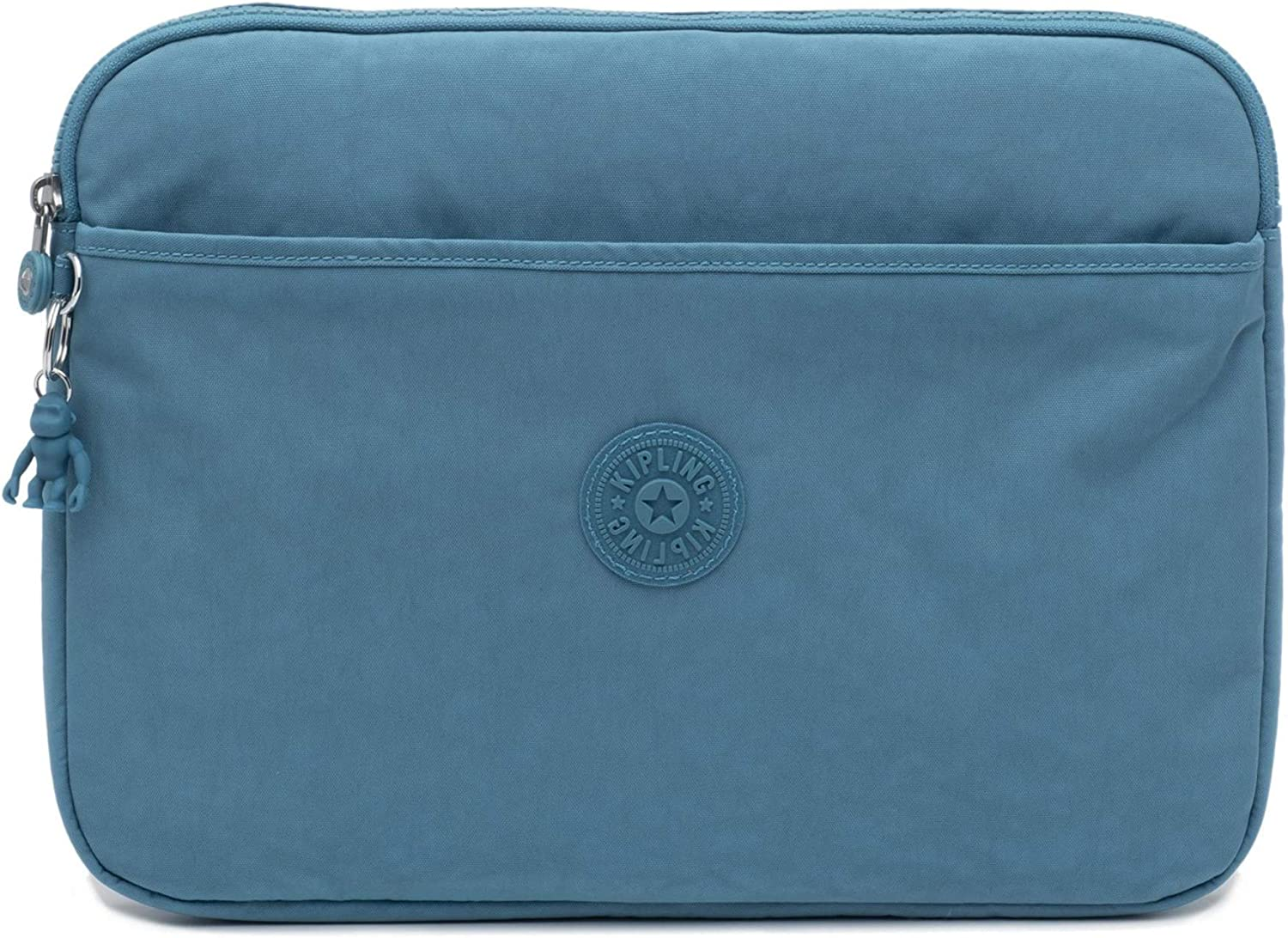 "Kipling 13"" Laptop Sleeve, Organizational Front Pocket, Zip Closure Messenger Bag"