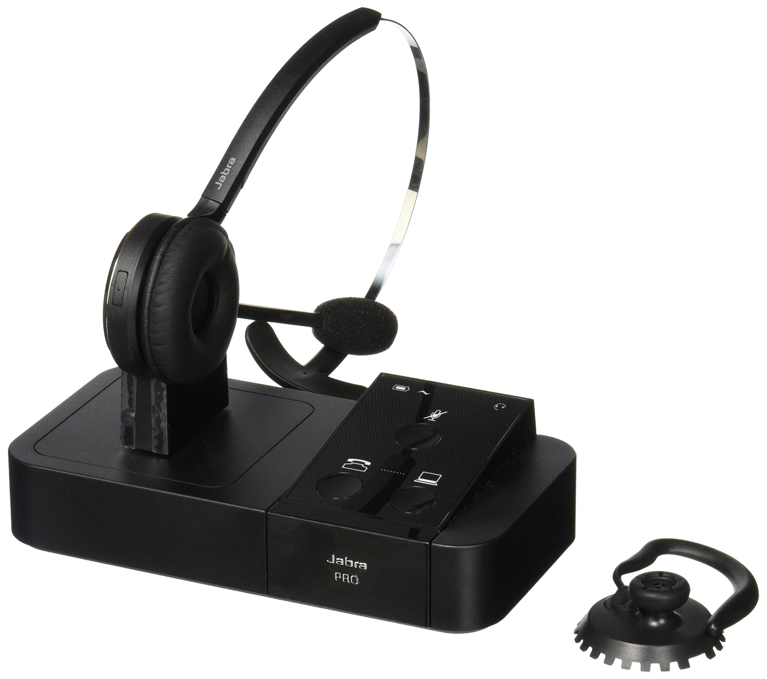 Jabra PRO 9450 Mono Flex-Boom Wireless Headset for Deskphone & Softphone by Jabra