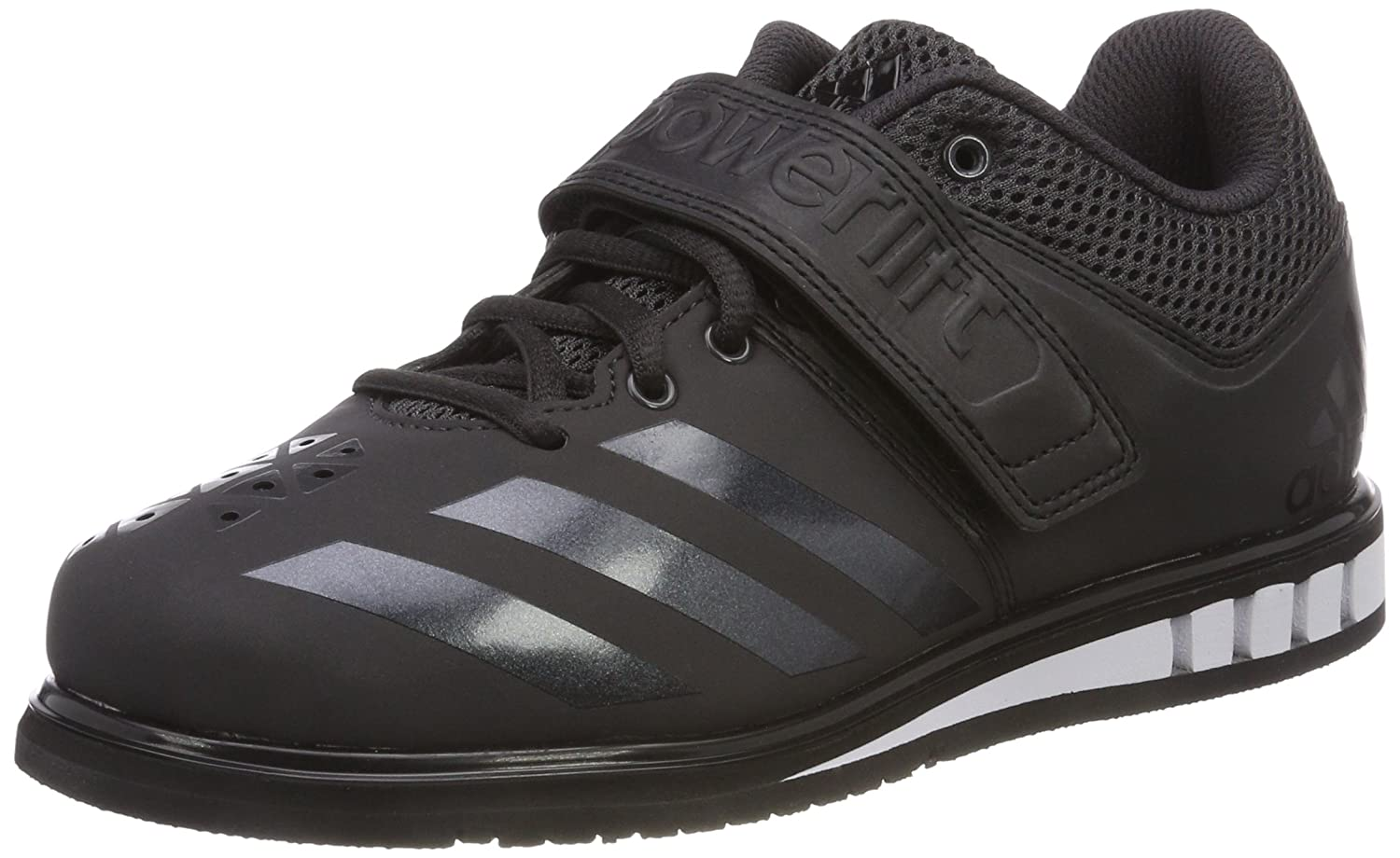 Black (Neguti Negbas Ftwbla 000) adidas Men's Powerlift.3.1 Multisport Indoor shoes