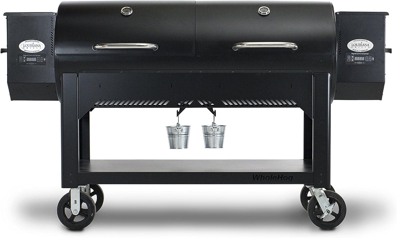 Louisiana Grills LG-001000-1750 WH-1750 Country Smoker Whole Hog