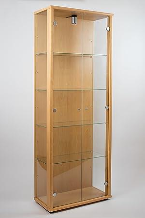 K Möbel Vitrine Murale 176x67x33 Cm Collection Miniature Décor De