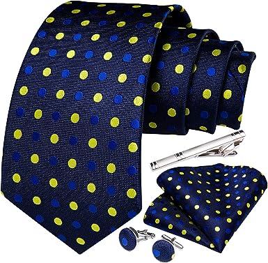DiBanGu - Juego de gemelos y clip para corbata, diseño de ...