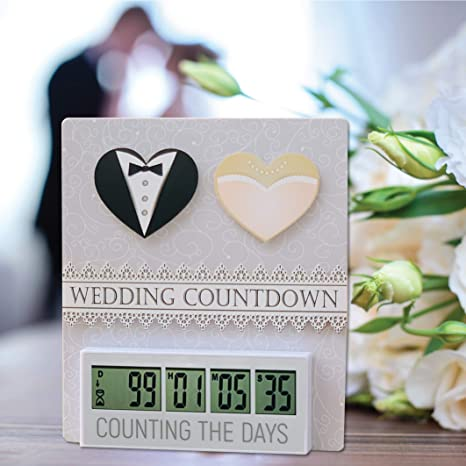 Amazon Com Retirement Wedding Or Baby Countdown Clock Up To 999 Day Countdown Timer Kitchen Dining