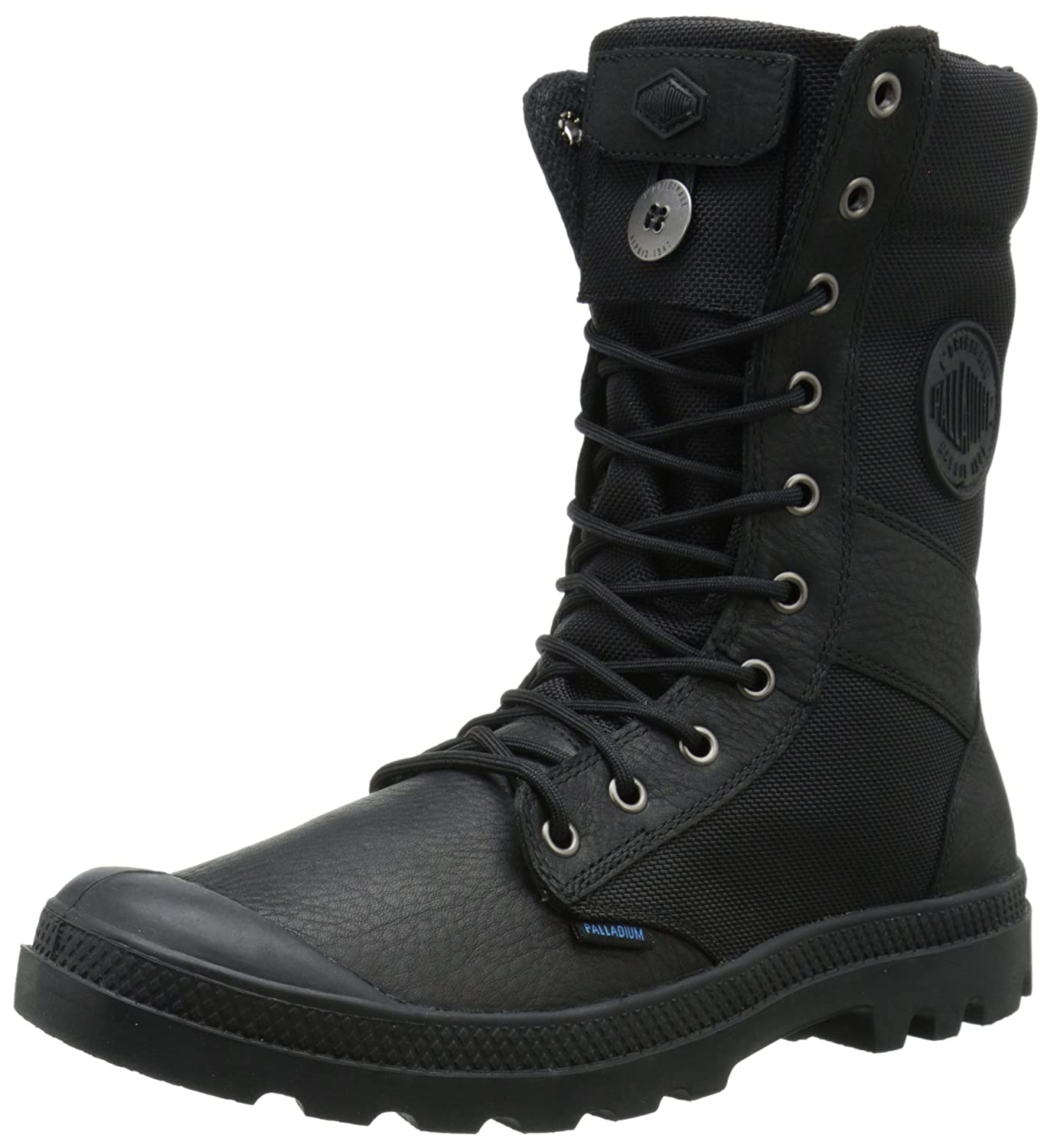 Amazon.com: Palladium Men's Tactical WPN Zip Rain Boot: Shoes