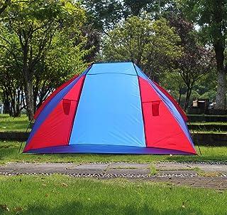 HYCy Tente De Plage Double Ombre Extérieure Pêche Pratique Tente Parc De Loisirs Tente