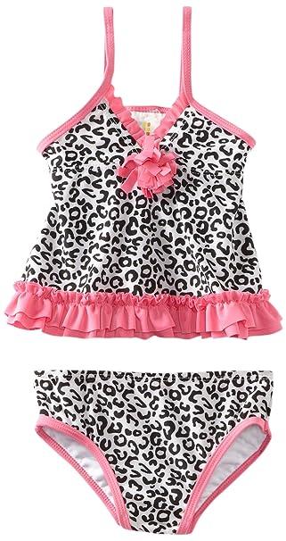 Amazon.com: Absorba bebé niña traje de baño Dos Piezas: Clothing