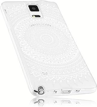Mumbi – Carcasa para Samsung Galaxy Note 4 Funda en Mandala Diseño: Amazon.es: Electrónica