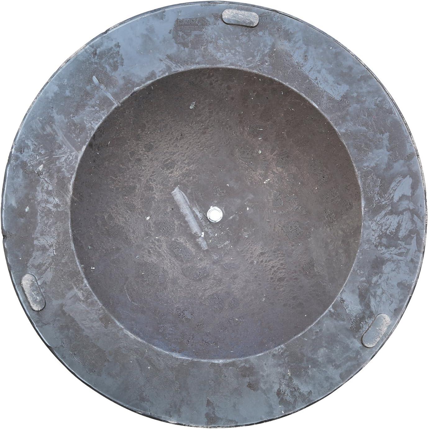 Bronze,mit Muster aus Poly-Harz und Stahl Schirmst/änder Angel Living 19kg Sonnenschirmst/änder