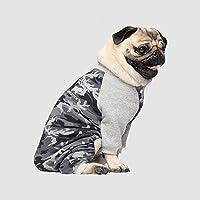 Canada Pooch CP01854 Frosty Combinaison en Polaire Noir/Camouflage Taille 12