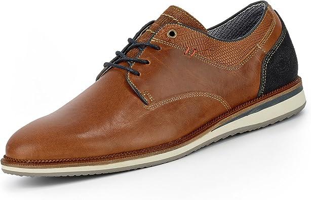 TALLA 40 EU. BULLBOXER 5935a, Zapatos de Cordones Derby para Hombre
