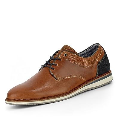 498fa65155925e Bullboxer 633k25935a, Chaussures de Ville à Lacets Pour Homme - Marron -  Marron,