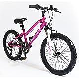 """20"""" Siren Girls KIDS BIKE - Childrens MUDDYFOX Bicycle in PINK (Hard Tail)"""
