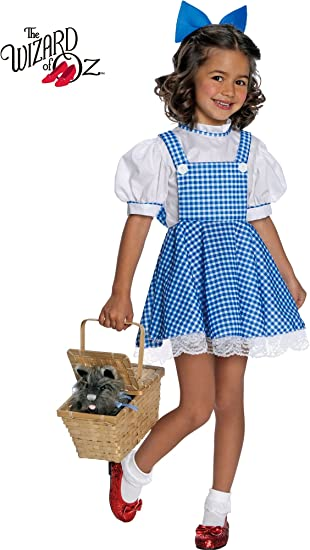 Wizard of Oz Deluxe Dorothy Costume Large