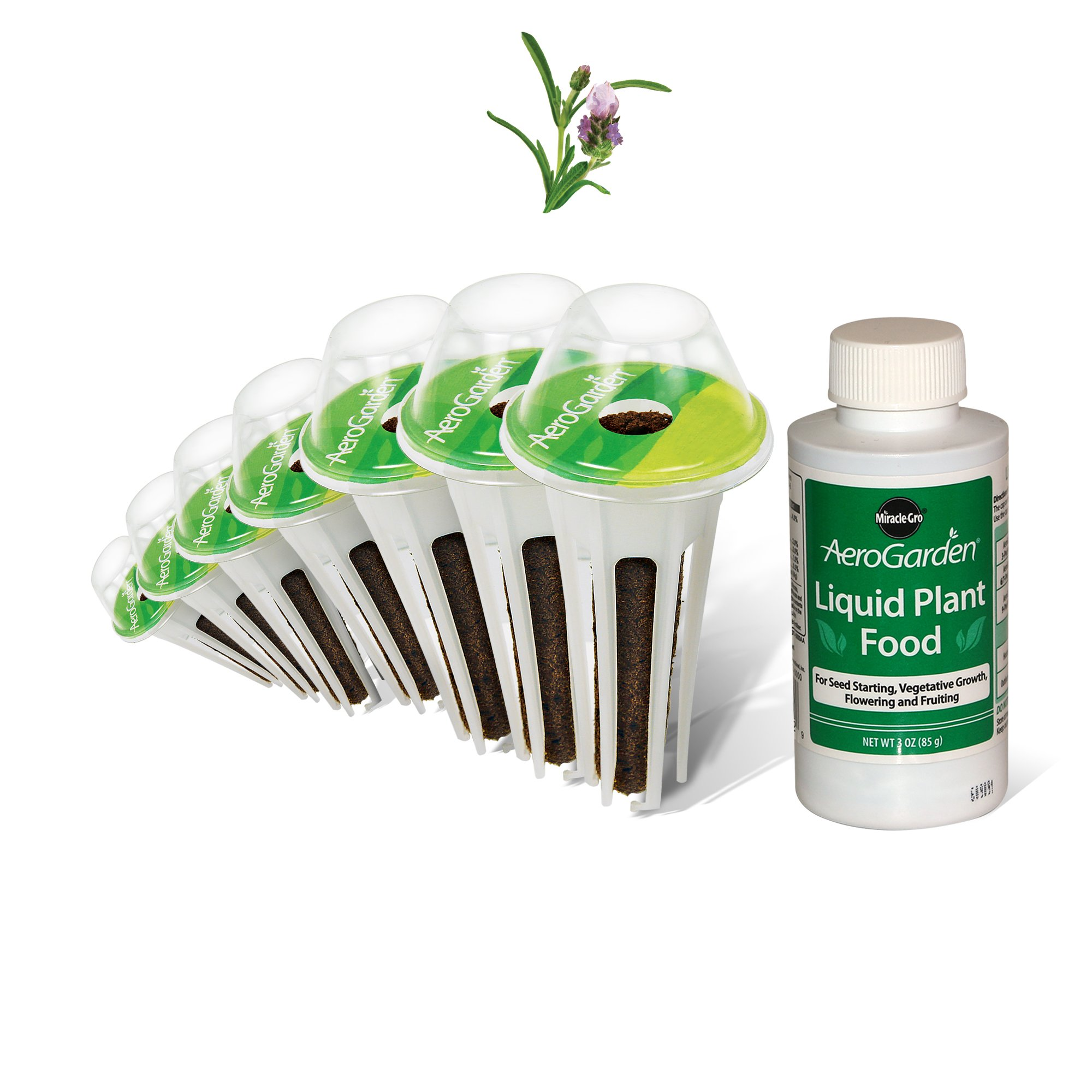 AeroGarden Lavender Seed Pod Kit (7-Pod) by AeroGarden