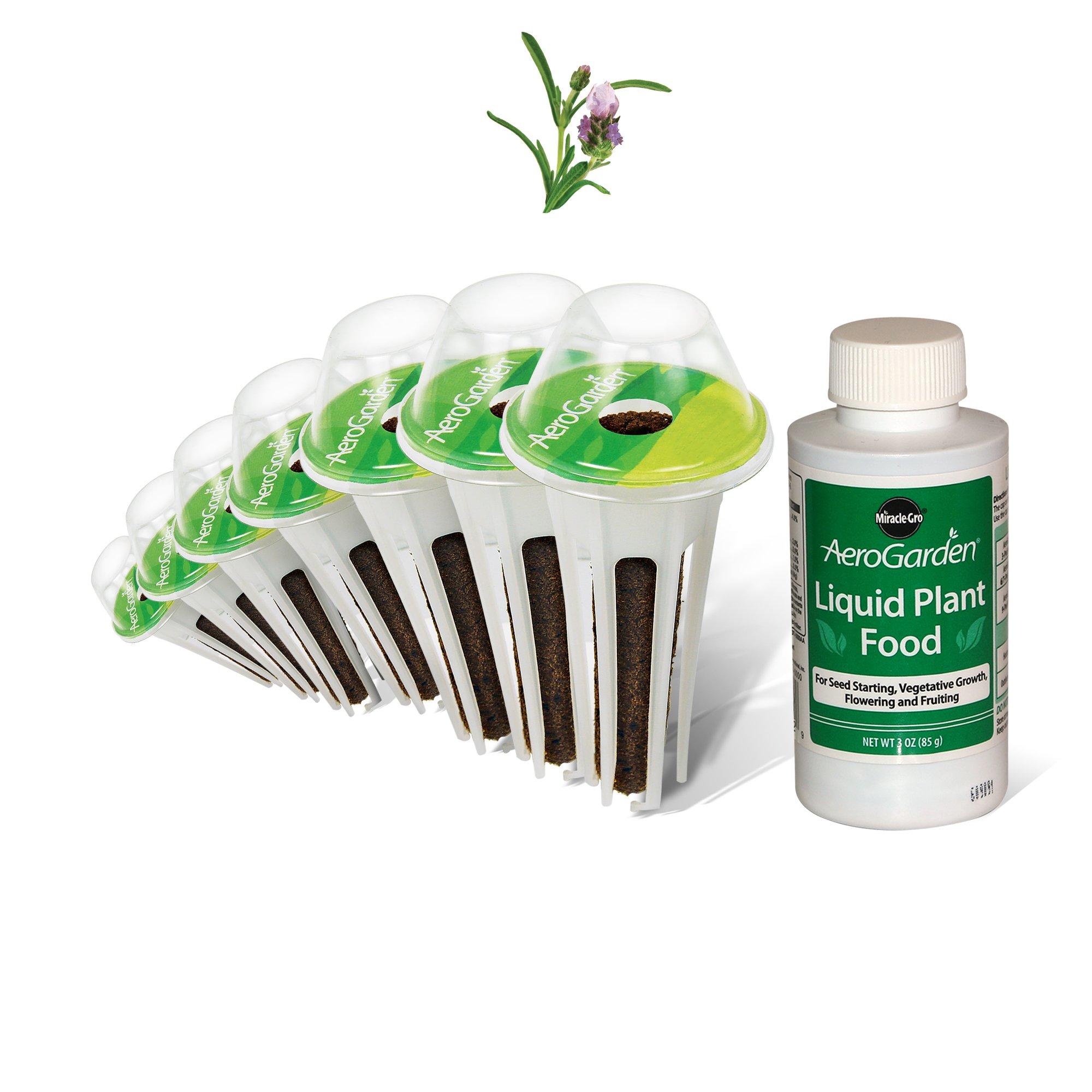 AeroGarden Lavender Seed Pod Kit (7-Pod)