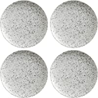 Maxwell Williams Caviar Speckle - Platos laterales, porcelana