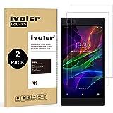 iVoler [2 Pack Pellicola Vetro Temperato Razer Phone [Garanzia a Vita], Pellicola Protettiva, Protezione per Schermo