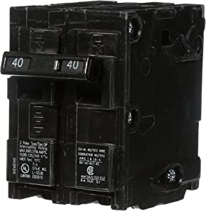 Q240 40-Amp Double Pole Type QP Circuit Breaker