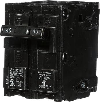 **NEW** Siemens Q240 40-Amp 2 Pole 120//240V Circuit Breaker